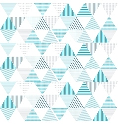Triangle pattern background geometric vector