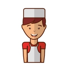 Butcher avatar character icon vector