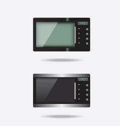 Microwave electronic device vector image