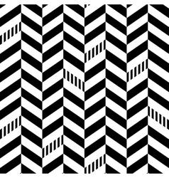 Classic Seamless Chevron Pattern vector image