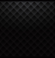 black square luxury pattern sofa texture vector image