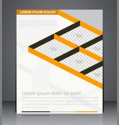 Business brochure flyer design layout design vector