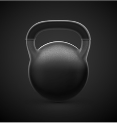 Heavy Kettlebell vector image vector image