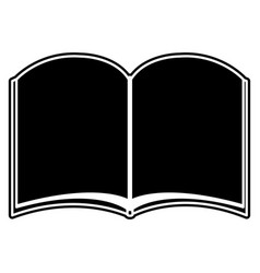 Isolated book design vector