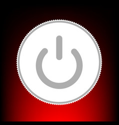 On off switch vector