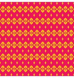Pink yellow modern classic design pattern vector