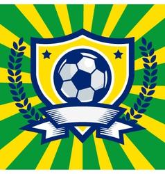 Soccer logo emblem vector