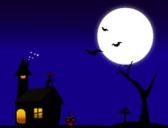 The Halloween vector image vector image
