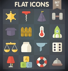 Universal Flat Icons for Web and Mobile Applicatio vector image