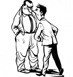 men vector image