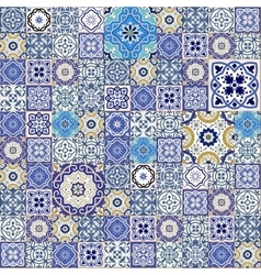 Seamless moroccan tiles vector