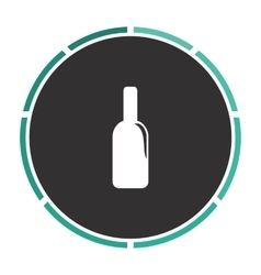 Alcohol computer symbol vector