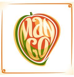 logo for mango vector image vector image