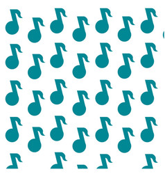 Music note tune background vector