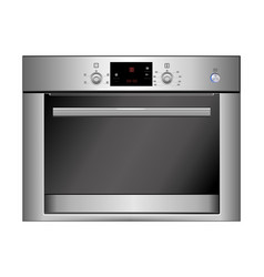 Oven isolated on white eps vector