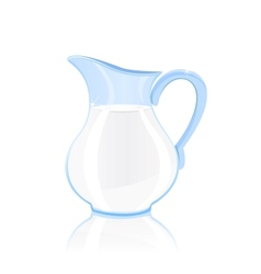 Jug of milk vector