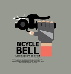 Bicycle bell graphic vector
