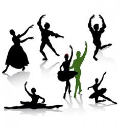 ballet2 vector image