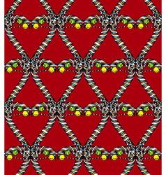 Seamless heart pattern4 vector image