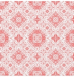 Traditional national embroidered seamless pattern vector