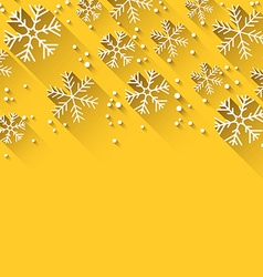 Christmas yellow abstract background vector