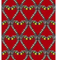 Seamless heart pattern4 vector image
