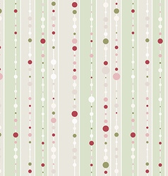 seamless pattern with lines and dot vector image vector image