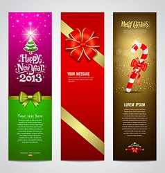 Happy new year 2013 banner design collections vector