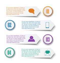 teamwork social infographic diagram presentation vector image