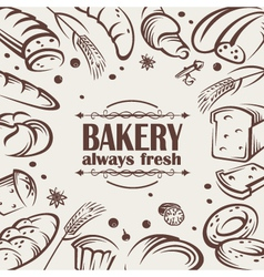 bread background vector image vector image