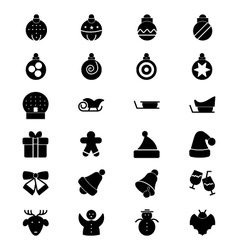 Christmas icons 2 vector