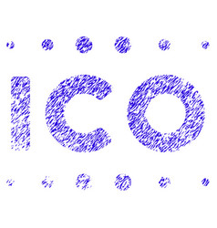 Ico caption icon grunge watermark vector