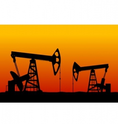 oilfield vector image