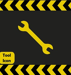 Spanner icon vector image vector image