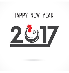 201 and 7 and hand sign with holiday background vector