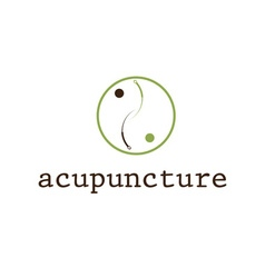 Acupuncture design template vector