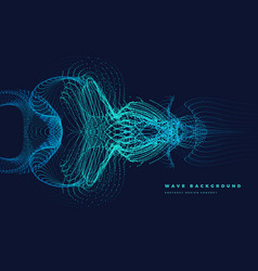 Particle curved mirror wave vector