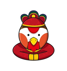 Rooster chinese vector