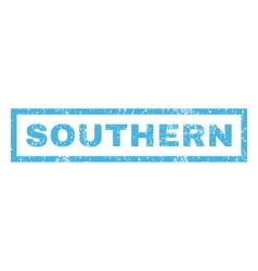 Southern rubber stamp vector
