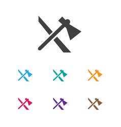 Of trip symbol on tomahawk vector