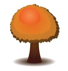 Stylized Autumn Tree5 vector image
