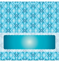 blue background vector image