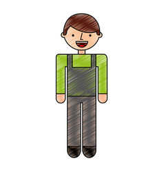 builder constructor avatar character vector image