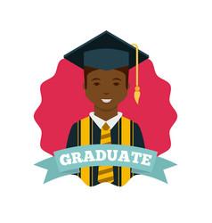 graduation achievement design vector image vector image