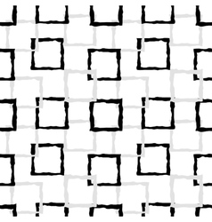 Pattern of black and grey squares vector