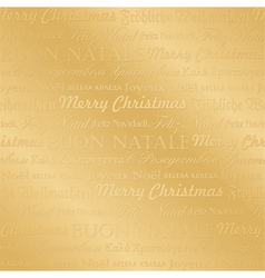 seamless multilingual christmas pattern vector image vector image