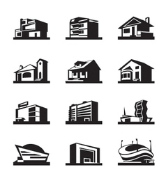 Various types of construction vector image