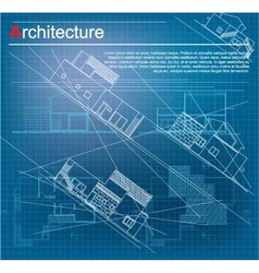 Urban Blueprint vector image