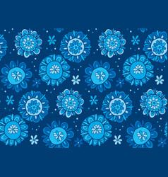 Hand drawn cute snowflake vector