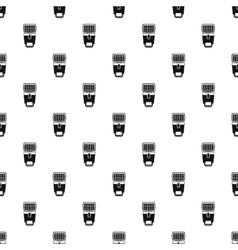 Photo camera flash pattern simple style vector
